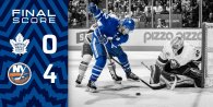 Game 39: New York Islanders VS Toronto Mapleleafs (L 4-0)