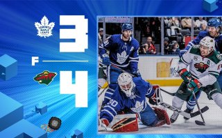 Game 40: Minnesota Wild VS Toronto Maple Leafs (L 4-3)