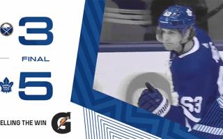 Game 62: Buffalo Sabres VS Toronto Maple Leafs (W 5-3)