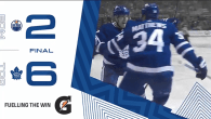 Game 63: Edmonton Oilers VS Toronto Maple Leafs (W 6-2)