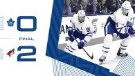 Game 58: Toronto Maple Leafs VS Arizona Coyotes (L 2-0)