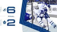 Game 69: Tampa Bay Lightning VS Toronto Maple Leafs (L 6-2)