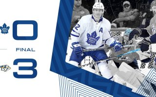 Game 73: Toronto Maple Leafs VS Nashville Predators (L 3-0)