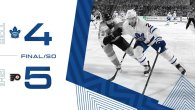 Game 77: Toronto Maple Leafs VS Philadelphia Flyers (SOL 5-4)