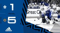 ECQF Game 6: Toronto Maple Leafs @ Boston Bruins (L 5-1)