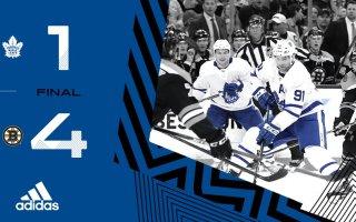 ECQF Game 2: Toronto Maple Leafs @ Boston Bruins (L 4-1)