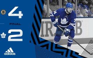 ECQF Game 6: Boston Bruins @ Toronto Maple Leafs (L 4-2)