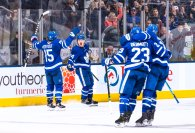 Game 57: Arizona Coyotes @ Toronto Maple Leafs (OTW 3-2)