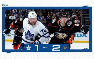 Game 69: Toronto Maple Leafs @ Anaheim Ducks (L 2-1)