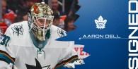 Maple Leafs Sign Goaltender Aaron Dell