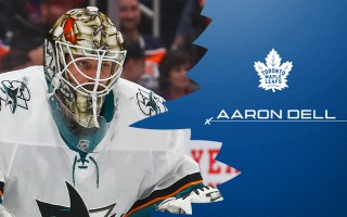 Maple Leafs Sign Goaltender Aaron Dell