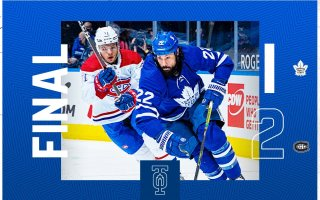 Game 15: Montreal Canadiens 2 – 1 Toronto Maple Leafs