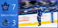 Game 11: Vancouver Canucks 3 – 7 Toronto Maple Leafs
