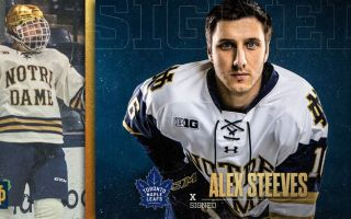 Maple Leafs Sign Alex Steeves