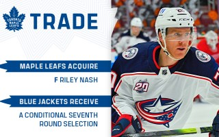 Maple Leafs Acquire Riley Nash From Columbus