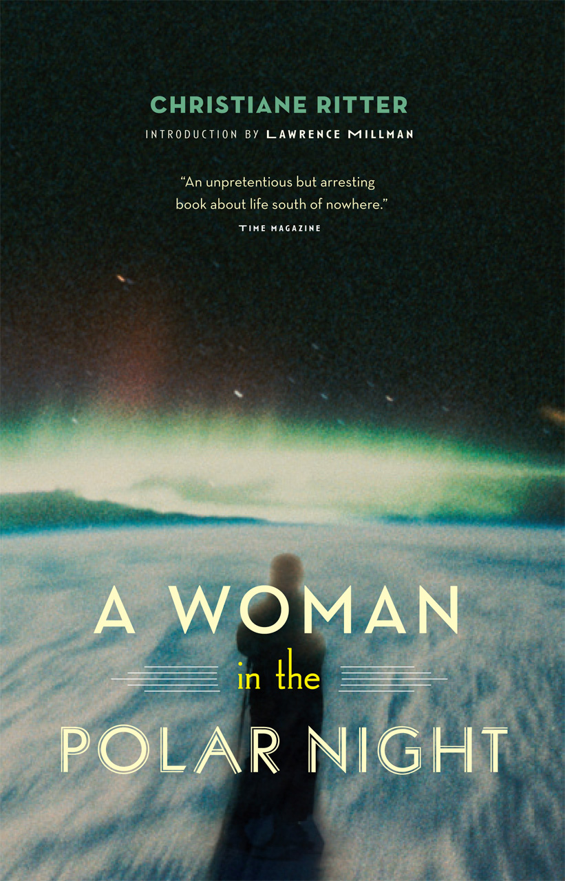 Image result for a woman in the polar night