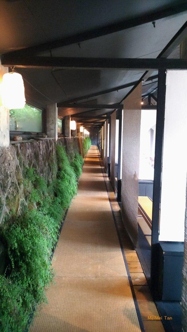 松園禪林原心 室內長長的走廊