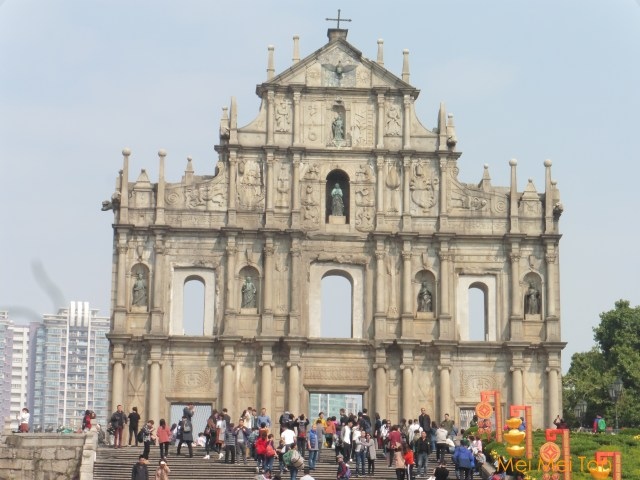 Travel-Macao-Historic Center of Macao-Ruins of St Paul-20180210