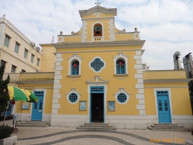澳門路環的「聖方濟各天主堂」