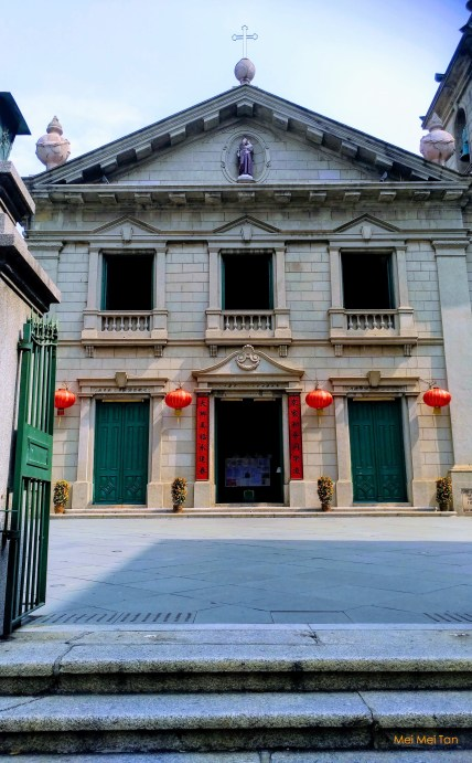 Travel-Macao-Historic Center of Macao-St Anthony's church-20180210