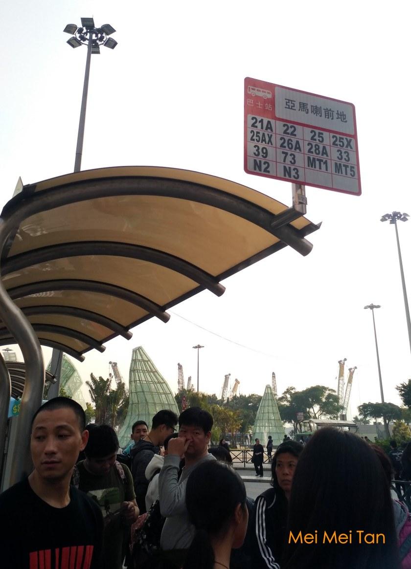 澳門亞馬喇前地公車站