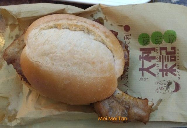 Travel-Macao-Pork Chop Bun-Tai Lei Loi Kei-Venetian Macao-20180210