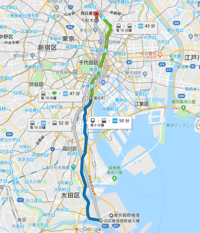 2018-04-26_Tokyo Monorail route