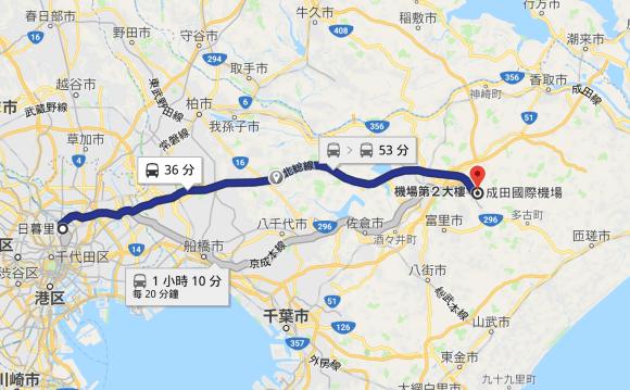 2018-04-26_Tokyo Skyliner and Kyosei honsen routes