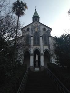 長崎市大浦天主堂,圖片來源:https://upload.wikimedia.org/wikipedia/commons/7/78/Oura_Church_20140117.jpg