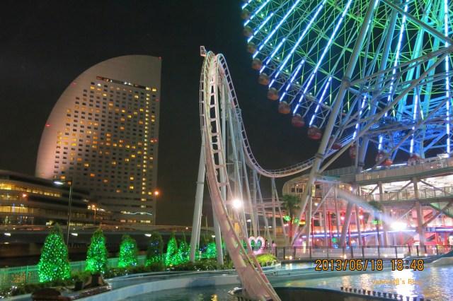 Yokohama night view from Amuse Cosmos Fantasia Kids_2