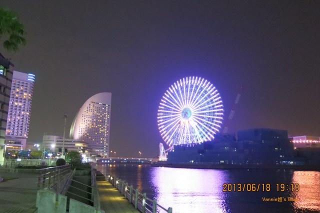 橫濱港未來夜景