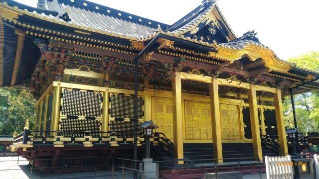 Tokyo-Ueno-Toshogu Shrine-Golden Temple-20180420