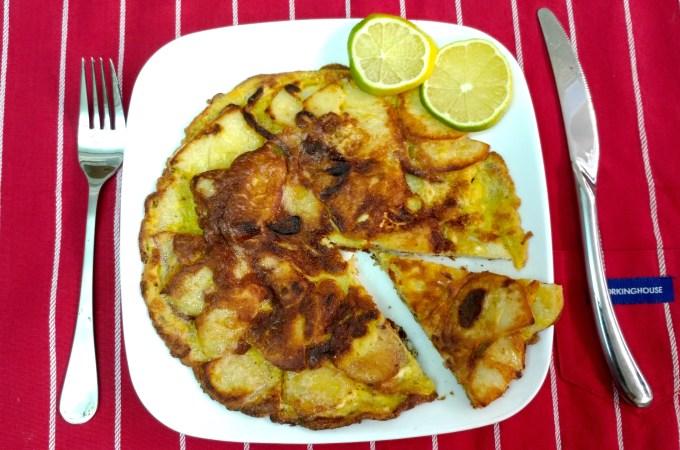 週末食譜:西班牙烘蛋