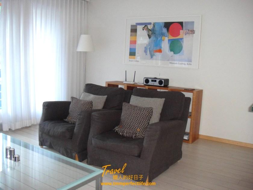 Haus Ascot 2 策馬特公寓 客廳