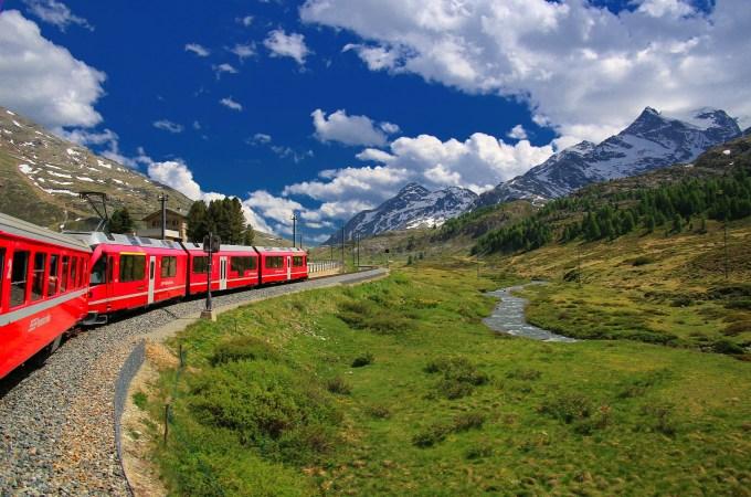 策馬特交通 瑞士冰河列車