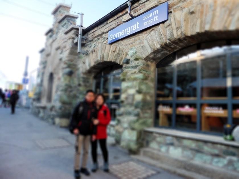 Gornergrat Bahn - Matterhorn Railway Station
