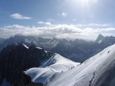 南針峰上看到的風景