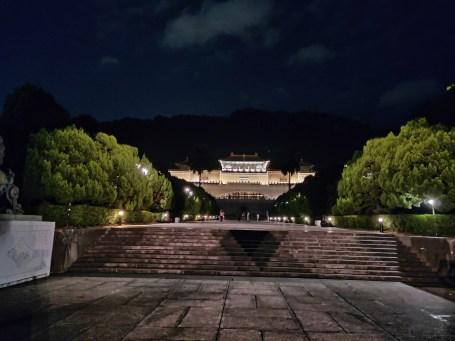 英語導遊職前訓練 後的故宮學習,夜晚的故宮