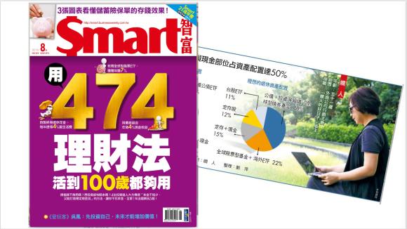 「 SMART智富雜誌 」2019/8月號,有嫺人的好日子採訪