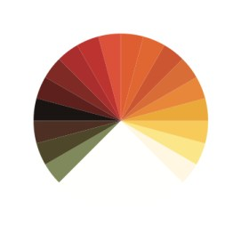 Colorwheel of Novgorod Icon Painting School