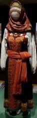 Peasant Woman's Holiday Sarafan and Shirt
