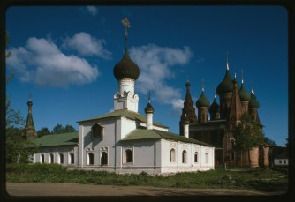The Church of the Tikhvin Mother of God, Photographer William C. Brumfield