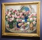 Aleksandr-Mikhailovich-Gerasimov-Still-Life-With-Flowers-Oil-on-Canvas-38-x-43-1-2-300x284