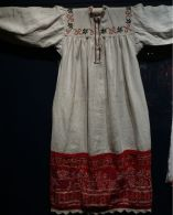 Shirt, late 19th-early 20th century. Verkhovazhie, Vologda region, Russia. Private Collection of Susan Johnson. See item description for specific details.