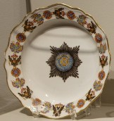 Soup plate of the Order of St. Alexander Nevsky, 1777-1780.