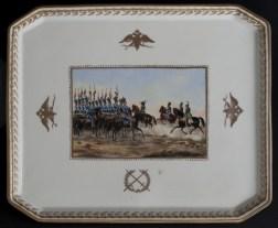 Military tray, c. 1796-1801