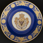 Soup Plate, 1826 Coronation Service of Nicholas I