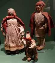 Ethnographic Dolls, late 19th-early 20th century. Vologda region, Russia. Private Collection of Susan Johnson. Cloth, thread.