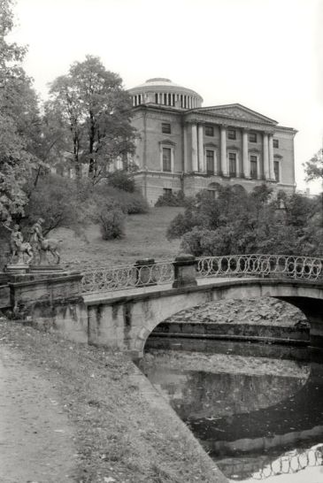 William C. Brumfield. Pavlovsk Palace. Park Façade.. 1997. Photograph.