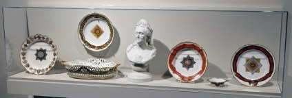 Service Set, Catherine II, The Gardner Factory, Verbilki, C. 1777-1785. Hard paste porcelain. Varied dimensions. Raymond F. Piper Collection.